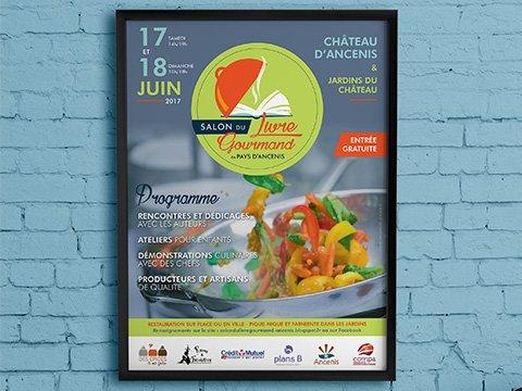 Salon du livre gourmand ancenis 2017 affiche