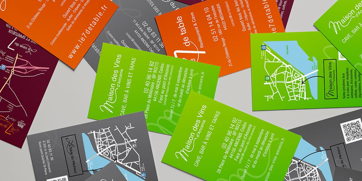 Cartes De Visite Recto Verso Couleur Ancenis Nantes